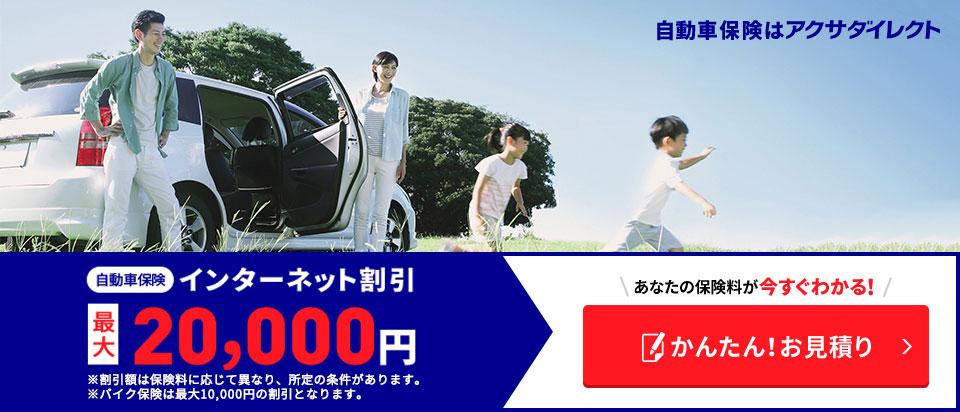 アクサダイレクトの自動車保険